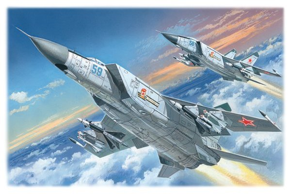 Pavla 1//72 MiG-25P canopy # V72062
