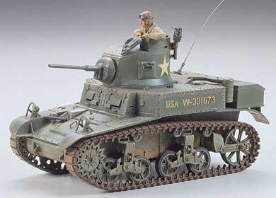/1 56/M3/Stuart Light Tank Italeri 15761/