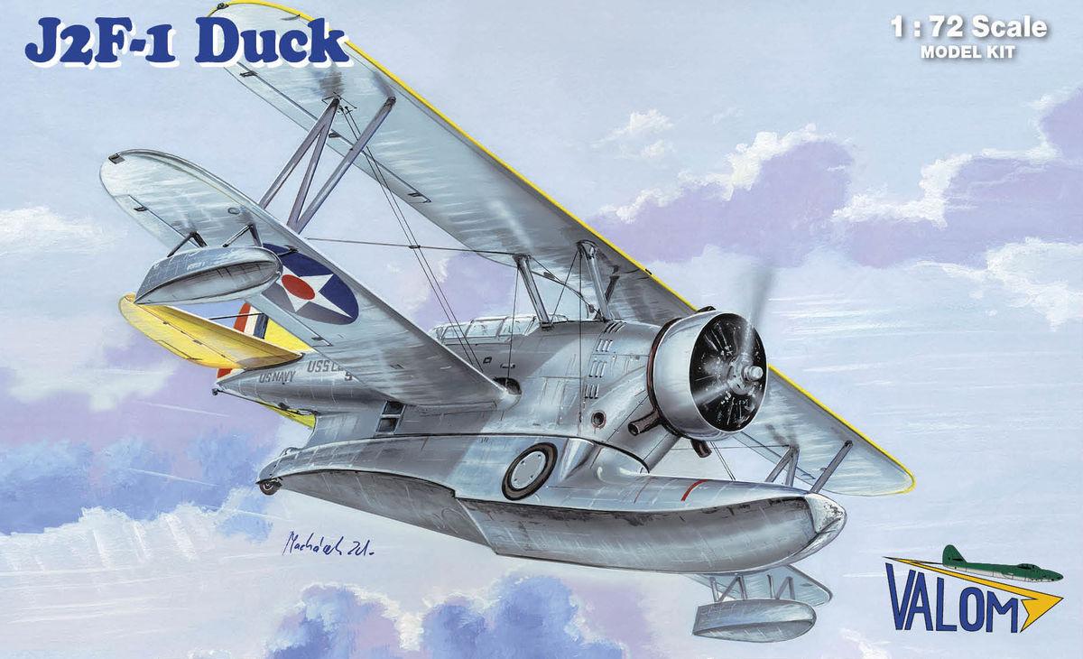 Grumman J2f 1 Duck Valom 72112