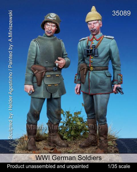 Mantis Miniatures 35089 WWI German Soldiers