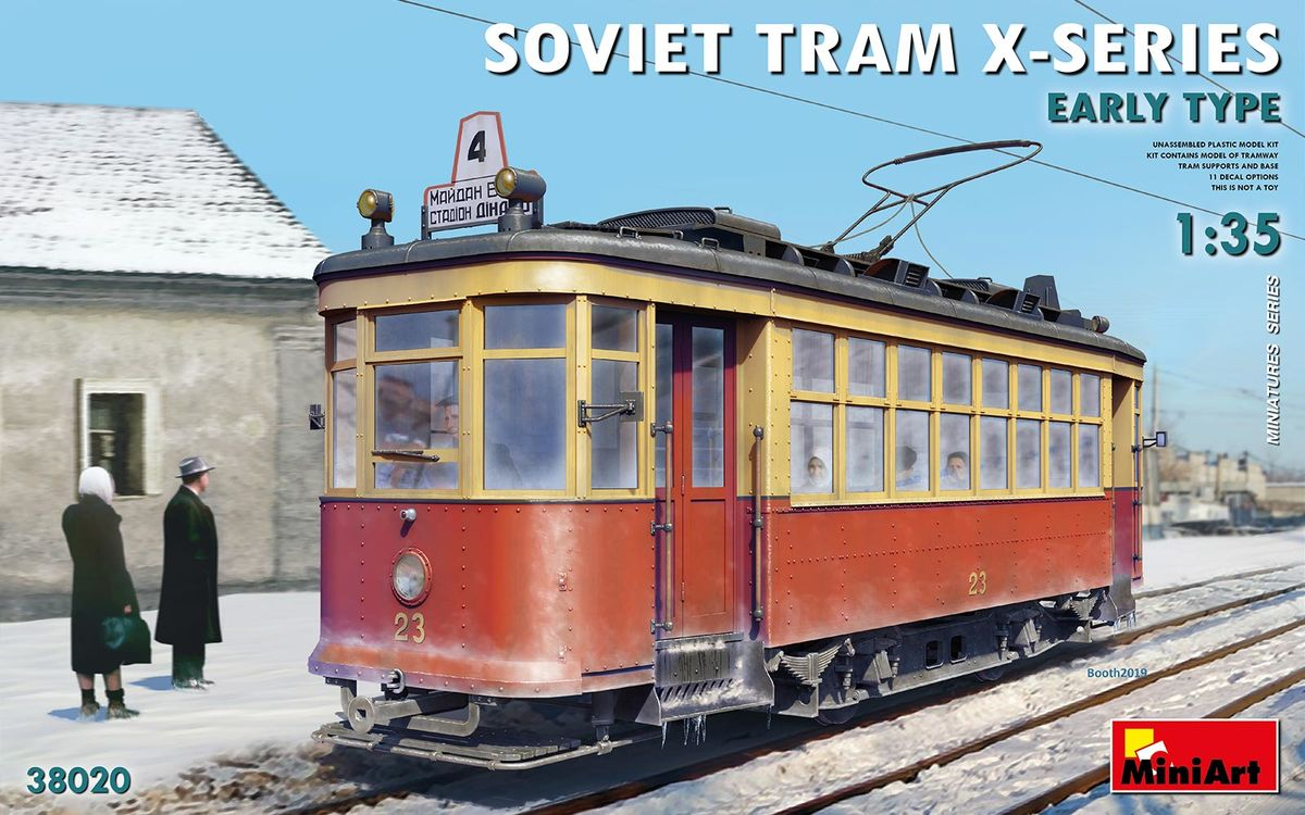 Soviet Tram X-Series Early Type - Image 1