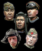 WW2 Russian Heads #1 - Image 1
