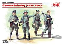 German Infantry (1939-1942) (4 figures) (100% new molds) - Image 1