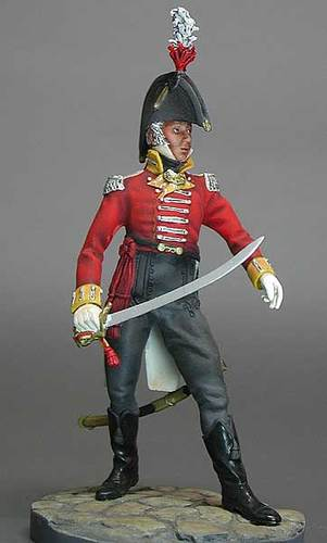 English Officer, 16 th Regiment 1802 - Image 1