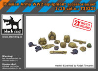 Russian Army WW2 equipment accessories set - Image 1