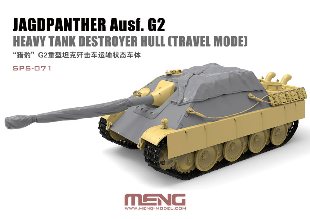 Jagdpanther Ausf. G2 Hull (Travel Mode) - Image 1