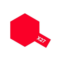Enamel X-27 Clear Red Gloss - Image 1