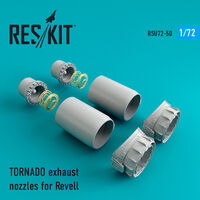 TORNADO exhaust nozzles for Revell