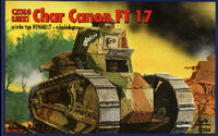 Char Canon FT 17 with Renault type turret - Image 1