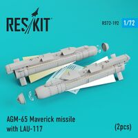 AGM-65 Maverick missile with LAU-117  (2pcs) AV-8b, A-10, F-16, F-18)