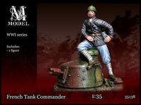French Tank Commander - Image 1