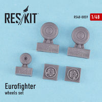 Eurofighter Typhoon wheels set - Image 1