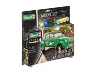 Citroen 2CV Sauss Ente Model Set - Image 1