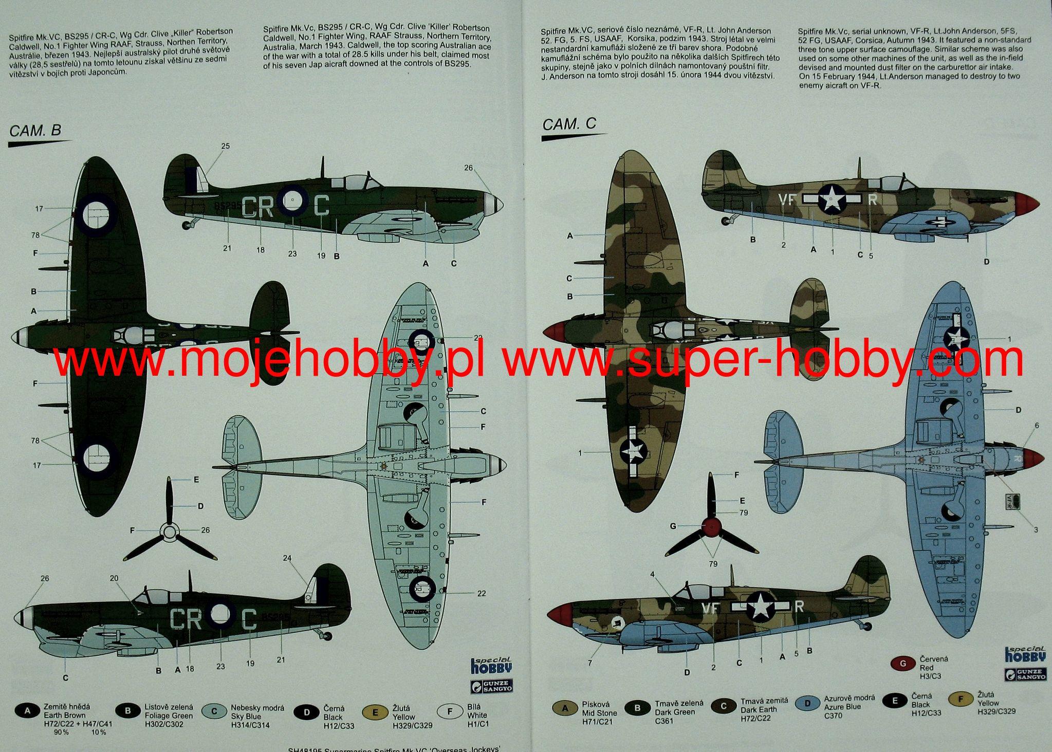1:72 Easy Model Hurricane Mkii 3 Sqn Raf 1942-172 Em37242