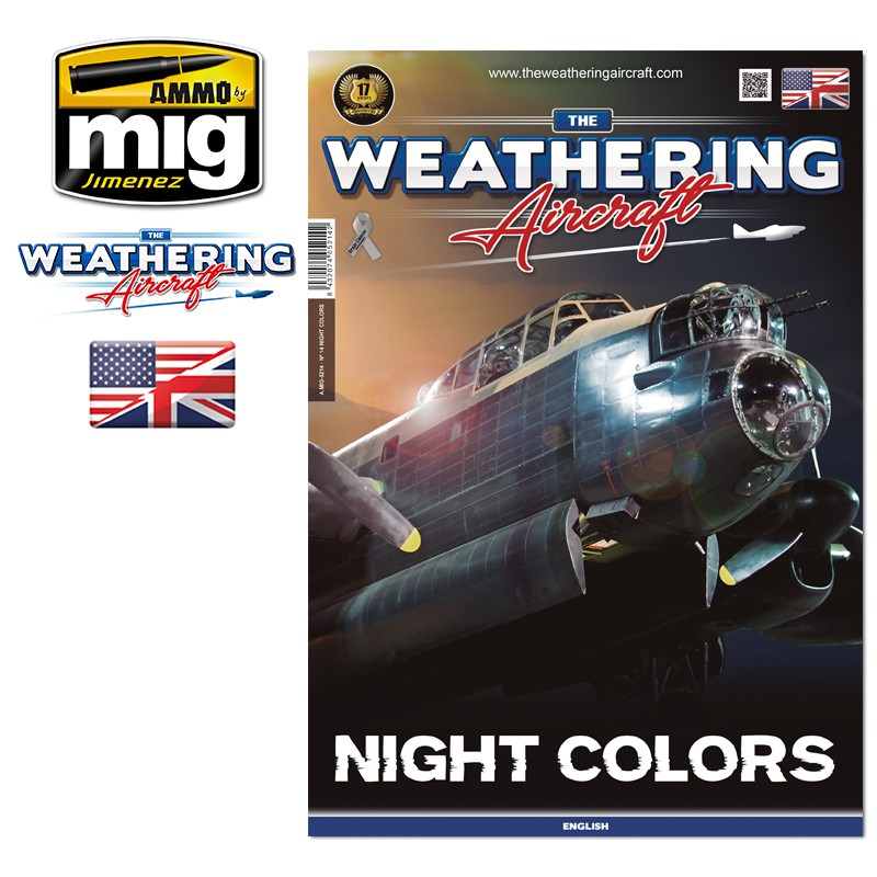 The Weathering Aircraft Issue 14. NIGHT COLORS (English) - Image 1