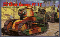 Char Canon FT 17 with Berliet type turret - Image 1