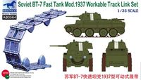Soviet BT-7 Fast Tank Mod.1937 Workable Track Link Set - Image 1