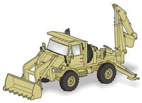 Unimog FLU 419 SEE US Army - full resin kit