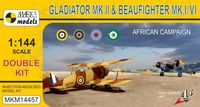 Gloster Gladiator Mk.II & Bristol Beaufighter North Africa (double kit) - Image 1