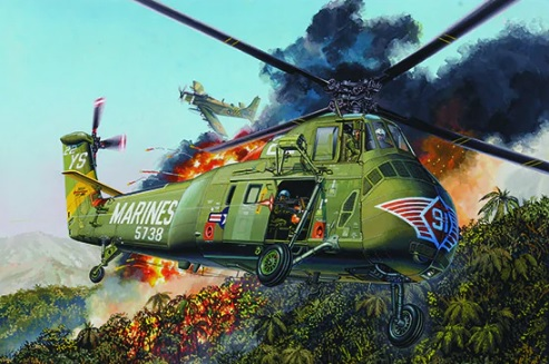 H-34 US MARINES - re-edition - Image 1