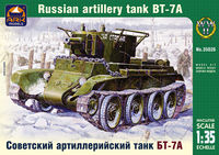 Soviet artillery light tank BT-7 with KT-28 76.2 mm gun - Image 1