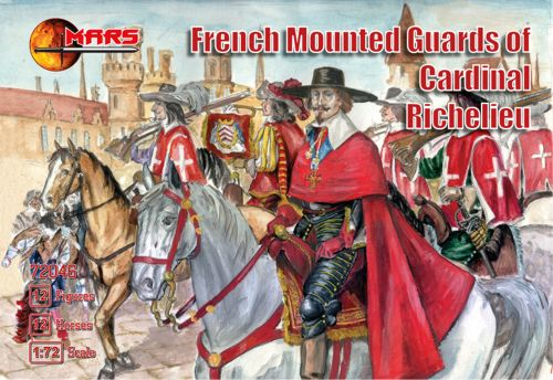 French Mounted Guards of Cardinal Richelieu - Image 1