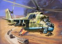 Soviet Attack Helicopter MI-24P - Image 1