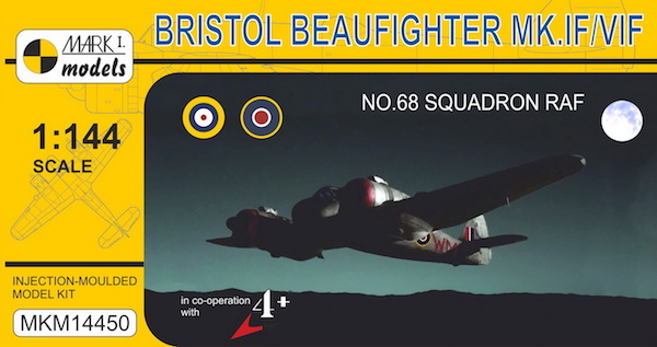 Bristol Beaufighter Mk.IF/VIF No.68 Sq. RAF - Image 1