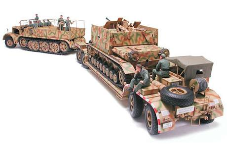 German 18 Ton Heavy Half-Track Famo and Tank Transporter Sd.Ah.116 - Image 1