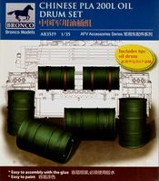 Chinese PLA 200L Oil Drum Set - Image 1