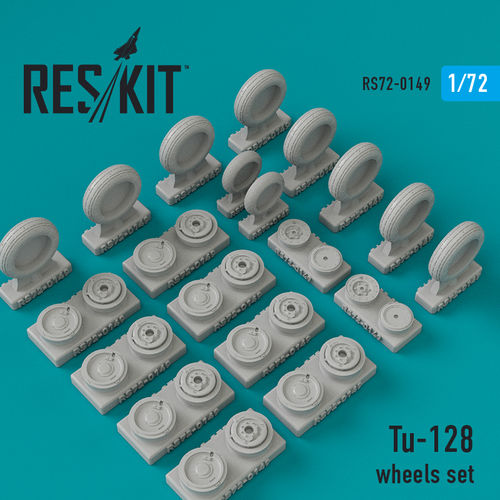Тu-128 wheels set - Image 1