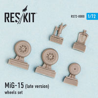 MiG-15 (late version) wheels set - Image 1