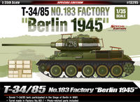 "T-34/85 No.183 Factory ""Berlin 1945"" - Image 1"