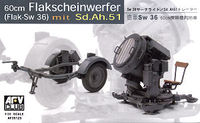 German SW-36 Searchlight/with Sd.Ah.51 Trailer - Image 1
