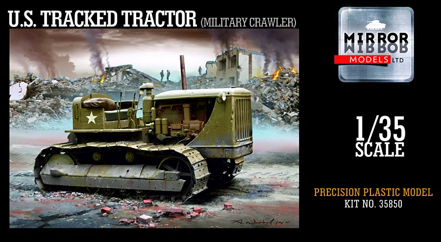 U.S. Tracked Tractor (Military crawler) - Image 1